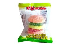 Efrutti Sour Mini Burger Gummi Candy 5 ct
