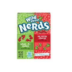 Nerds What-A-Melon & So Verry Cherry