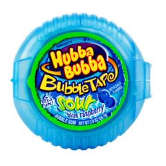 Hubba Bubba Bubble Tape - Sour Blue Rapsberry
