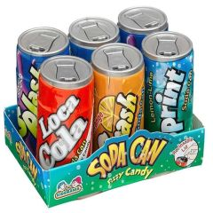 SODA CAN FIZZY CANDY (6pk)