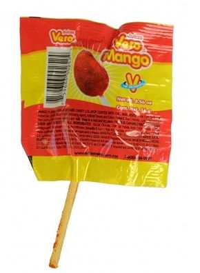 Vero Mango Lollipops