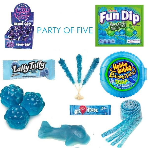 Blue Party of Five