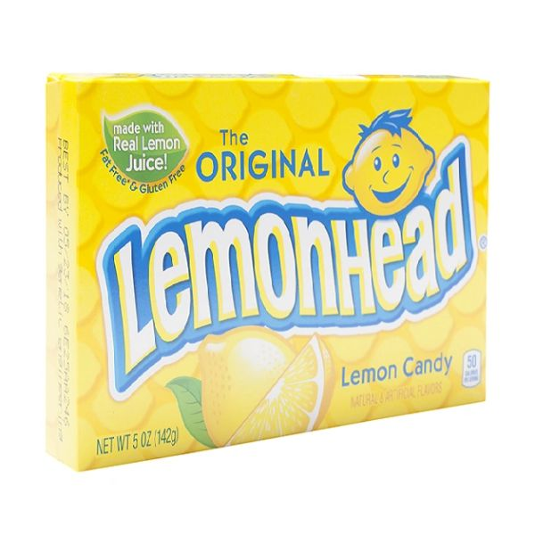 The Original Lemonhead Movie Box