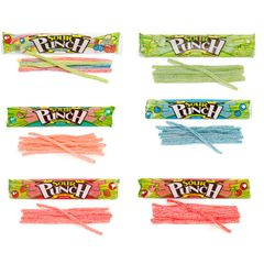 Sour Punch Straws 2 Ounce Packs