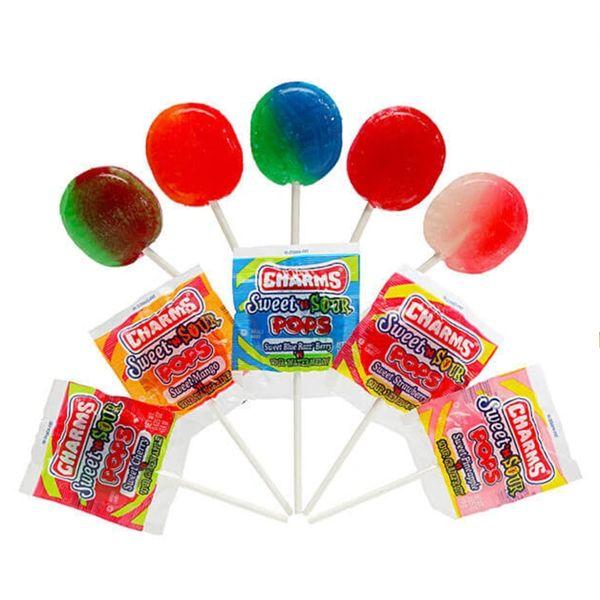 Charms Sweet & Sour Pops , 5 pcs
