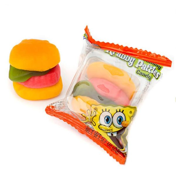SpongeBob Gummy Krabby Patties Candy
