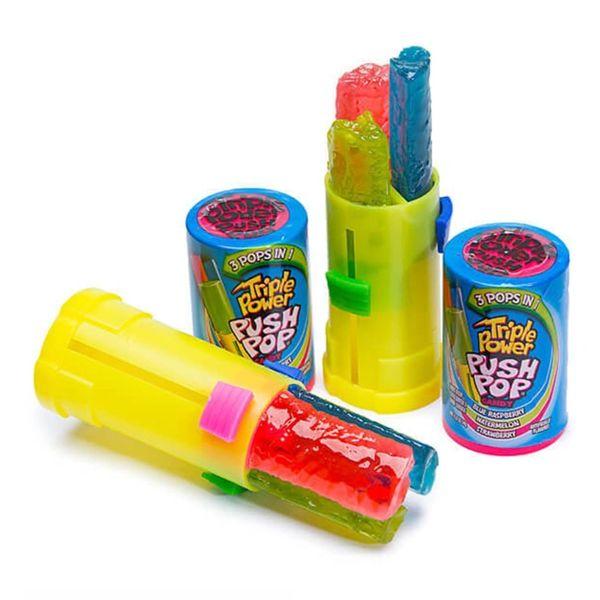 Push Pop Triple Power Candy