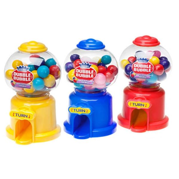 Dubble Bubble Gumball Machine Dispensers 12 ct