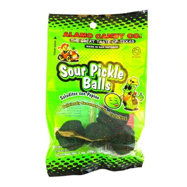 Alamo Candy Sour Pickle Balls