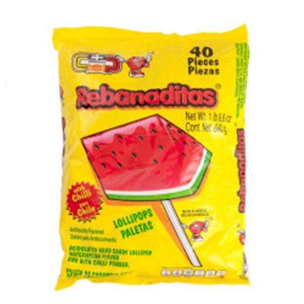 Vero Rebanditas Chili Lollipops 40-ct Bag