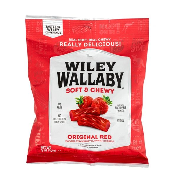 Wiley Wallaby Classic Red Licorice