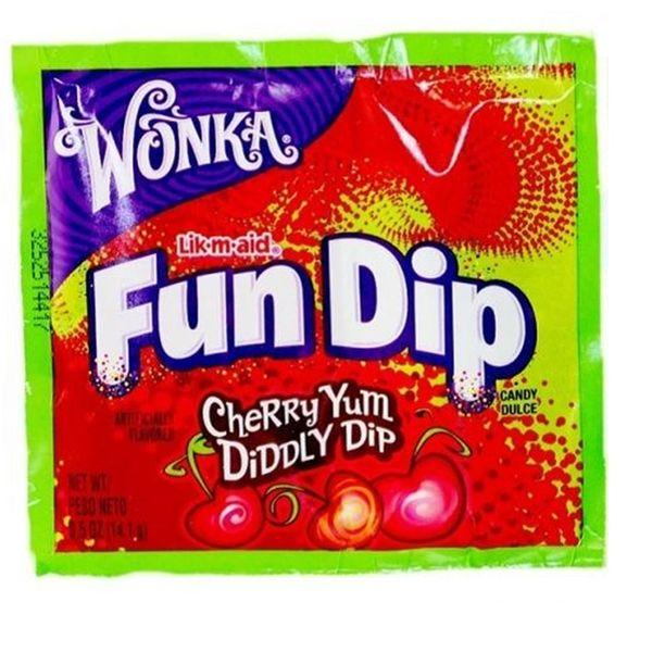 Wonka Fun Dip Lik-M-Aid Cherry
