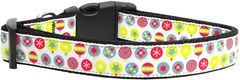 Holiday Dog Collars: Nylon Ribbon Collar Mirage Pet Products USA - CHRISTMAS ORNAMENT