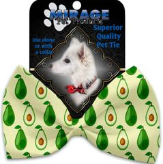 DOG BOW TIE: Decorative & Classy Silky Polyester PARADISE Dog Tie in 4 Different Designs