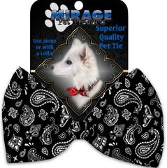 DOG BOW TIE: Decorative & Classy Silky Polyester Dog Tie with WESTERN in 5 Different Designs
