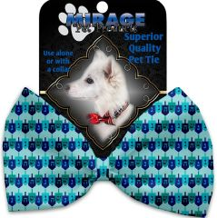 DOG BOW TIE: Decorative & Classy Silky Polyester Bow Tie for Dogs - DREILDEL, DREIDEL, DREIDEL