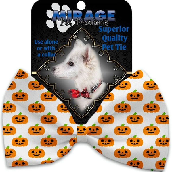 DOG BOW TIE: Decorative & Classy Silky Polyester Bow Tie for Dogs - HAPPY PUMPKIN