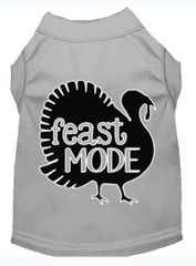 Dog Shirts: Thanksgiving Screen Print Dog Shirt in Various Colors & Sizes by MiragePetProducts - FEAST MODE