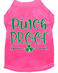 Dog Shirts: St. Patrick's Day Screen Print Dog Shirt in Various Colors & Sizes by MiragePetProducts - PINCH PROOF