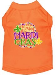 Dog Shirts: Dog Shirt Screen Print in Various Colors & Sizes by MiragePetProducts - LITTLE MISS MARDI GRAS