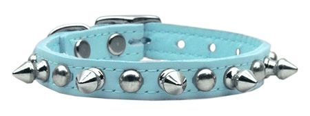 Spike Dog Collars: Genuine Leather Dog Collar CHASER in Various Colors & Sizes Mirage Pet Products USA