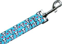 Nylon Dog Leashes: PANDA LOVE Nylon Dog Leash Mirage Pet Products USA