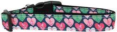 Nylon Dog Leashes: ANCHOR CANDY HEARTS Nylon Dog Leash Mirage Pet Products USA