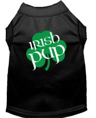 Dog Shirts: IRISH PUP Screen Print Dog Shirt in Various Colors & Sizes by Mirage