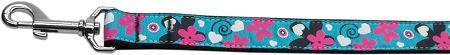 Nylon Dog Leashes: Aqua Love Nylon Dog Leash Mirage Pet Products USA - Matching Collar Sold Seaparetly