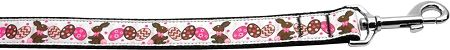 Nylon Dog Leashes: CHOCOLATE BUNNIES Nylon Dog Leash Mirage Pet Products USA