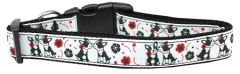 Dog Collars: Nylon Ribbon Collar FRENCH LOVE by MiragePetProducts - Matching Leash Sold Separately
