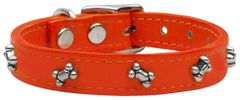 Leather Dog Collars: Leather Dog Collar Mirage Pet Products USA - BONES