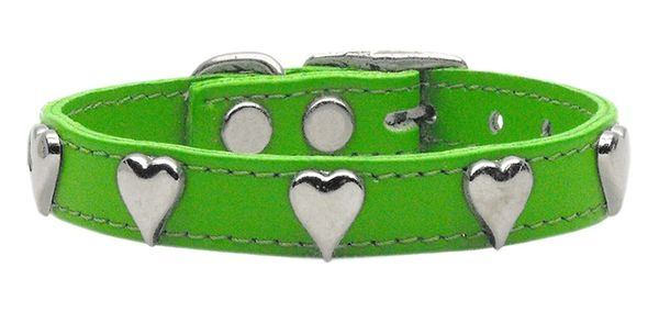 Leather Dog Collars: Leather Dog Collar Mirage Pet Products USA - HEARTS