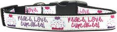 Dog Collars: Nylon Ribbon dog collar by MiragePetProducts - PEACE LOVE CUPCAKES