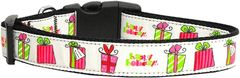 Dog Collars: Nylon Ribbon dog collar by MiragePetProducts -ALL WRAPPED UP