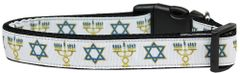 Dog Collars: Nylon Ribbon Collar by Mirage Pet Products USA -JEWISH TRADITIONS