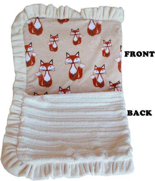 Dog Blankets: Pet Blankets Luxurious Fabric Washable Reversible Sizes From Carrier to Jumble - FOXY Design