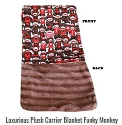 Dog Blankets: Pet Blankets Luxurious Fabric Washable Reversible Sizes From Carrier to Jumble - FUNKY MONKEY Design