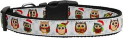 Dog Collars: Nylon Ribbon Collar by Mirage Pet Products USA - SNOWY OWLS