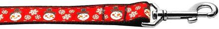 Nylon Dog Leashes: SNOWMEN Nylon Dog Leash Mirage Pet Products USA