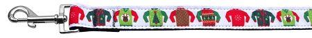 Dog Leashes: Ugly Sweater Nylon Dog Leash Mirage Pet Products USA