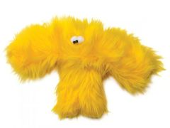 "DOG TOY: Plush Dog Toys: Colorful 12"" Furry Baby Salsa Dog Toy with Squeaker"
