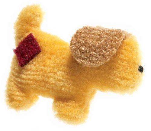Puppy Dog Toys: Small Dog Toy Puppy Pooch Corduroy Toy with Fun Squeaker