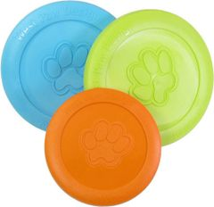 Tough Dog Toys: Zisc Flying Disc Zogoflex® Dog Toy by West Paw Design