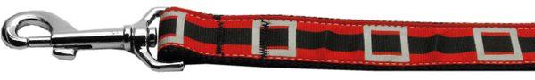 Holiday Nylon Dog Leashes: Santa's Belt Nylon Dog Leash Mirage Pet Products