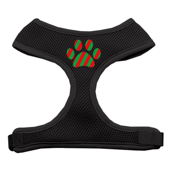 Dog Harnesses: Screen Print - CHRISTMAS PAW Soft Mesh Dog Harness in Several Sizes & Colors USA