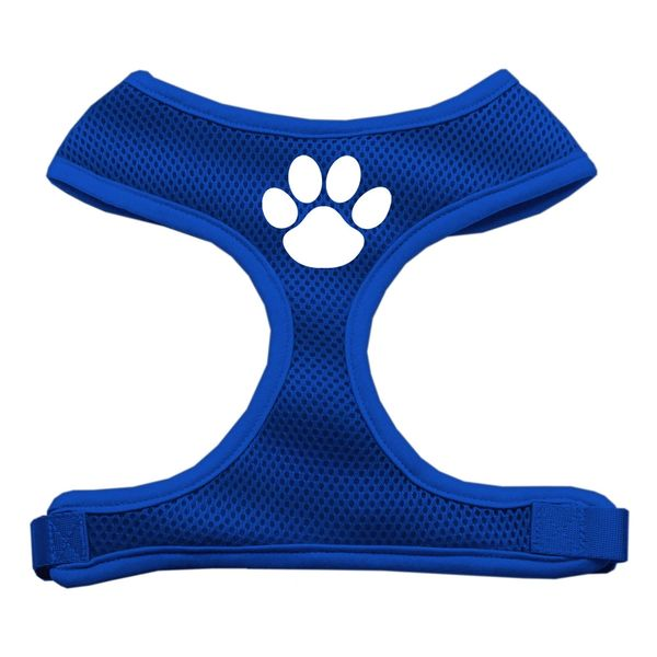 Dog Harnesses: Screen Print - PAW design Soft Mesh Dog Harness in Several Sizes & Colors USA