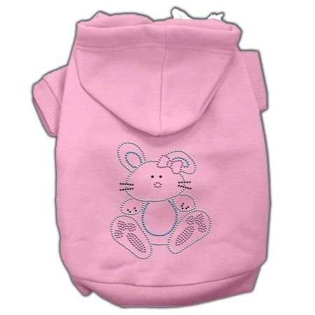 Dog Hoodies: Cute BUNNY Rhinestone Dog Hoodie by Mirage Pet Products USA