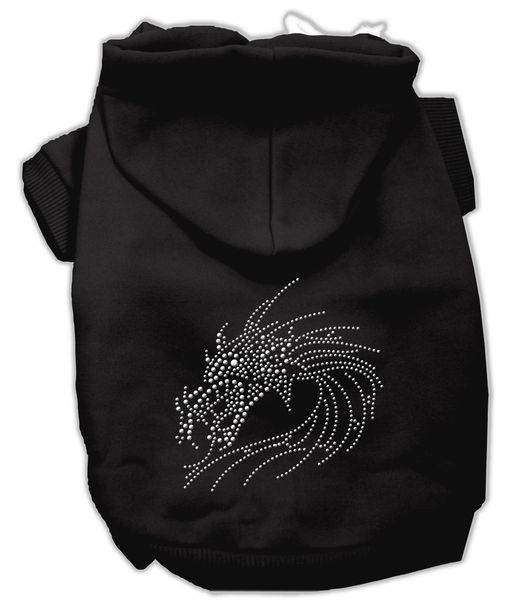 Dog Hoodies: Cute Rhinestone DRAGON Design Dog Hoodie by Mirage Pet Products USA