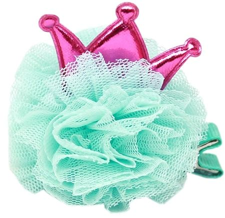 "Dog Party Hats: Princess ""Puff"" Hair Accessory for Dogs in 6 Colors by Mirage"